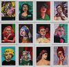 ladies in painting by stephen french limited edition print